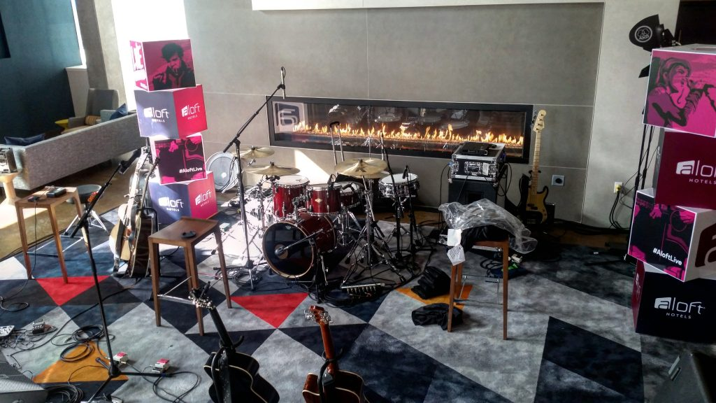 Rigs for the Gig at the Aloft Seattle-Redmond, WA.
