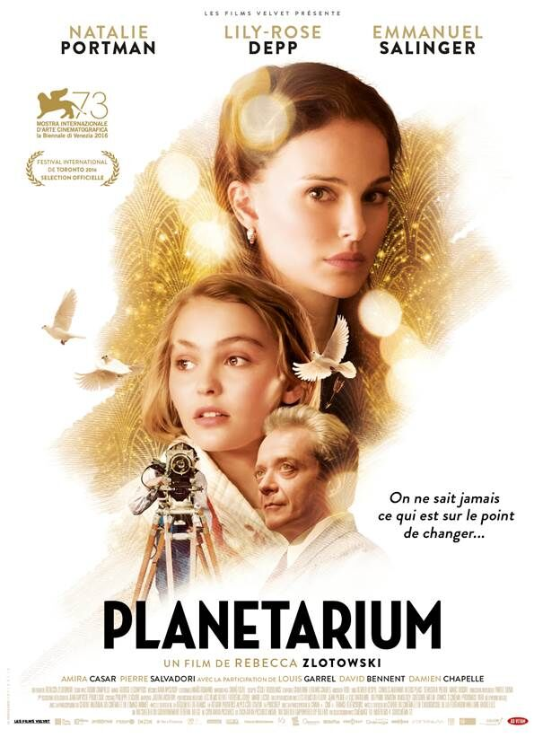 Poster for 2017's Planetarium