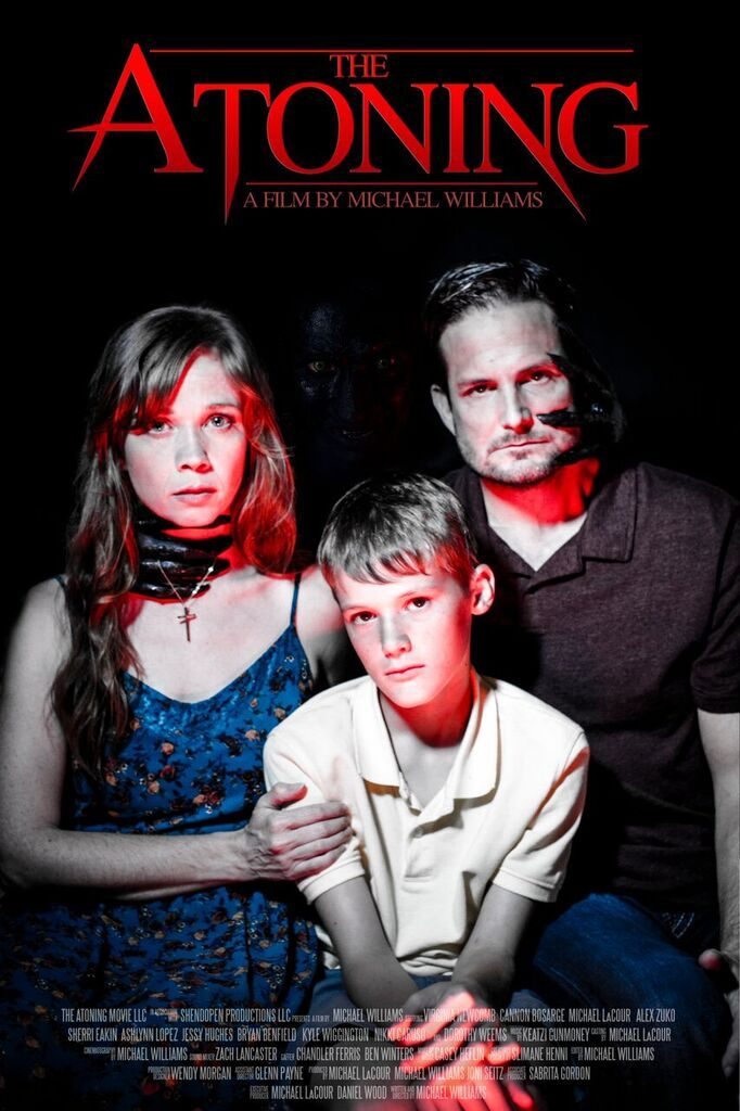Family poster for The Atoning.