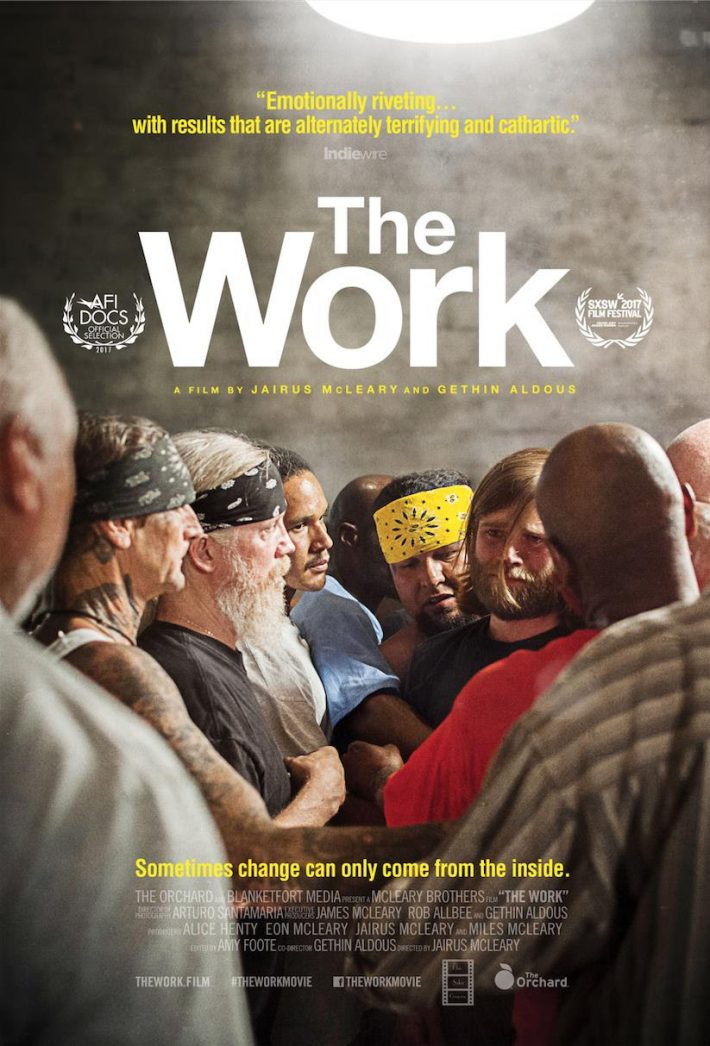 Poster for 2017 Documentary, The Work