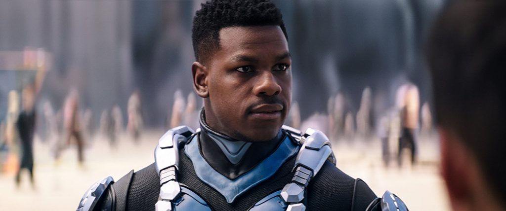 John Boyega, as seen in Pacific Rim: Uprising (2018).