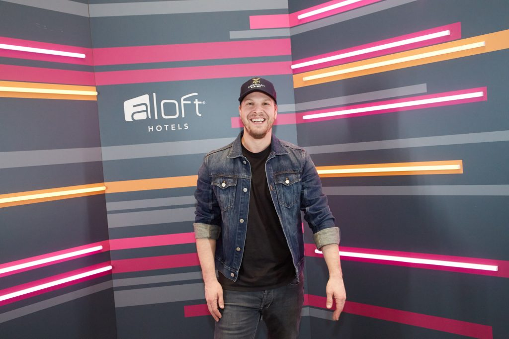 Gavin DeGraw at the Aloft Hotel Long Island City