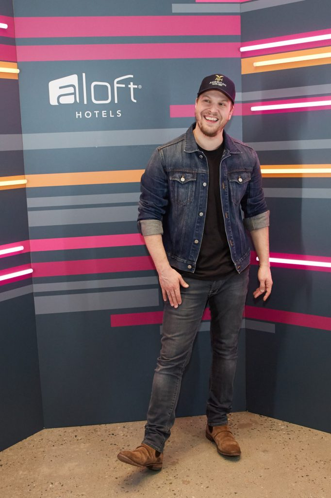 Gavin DeGraw at the Aloft Hotel in Long Island City, NY.