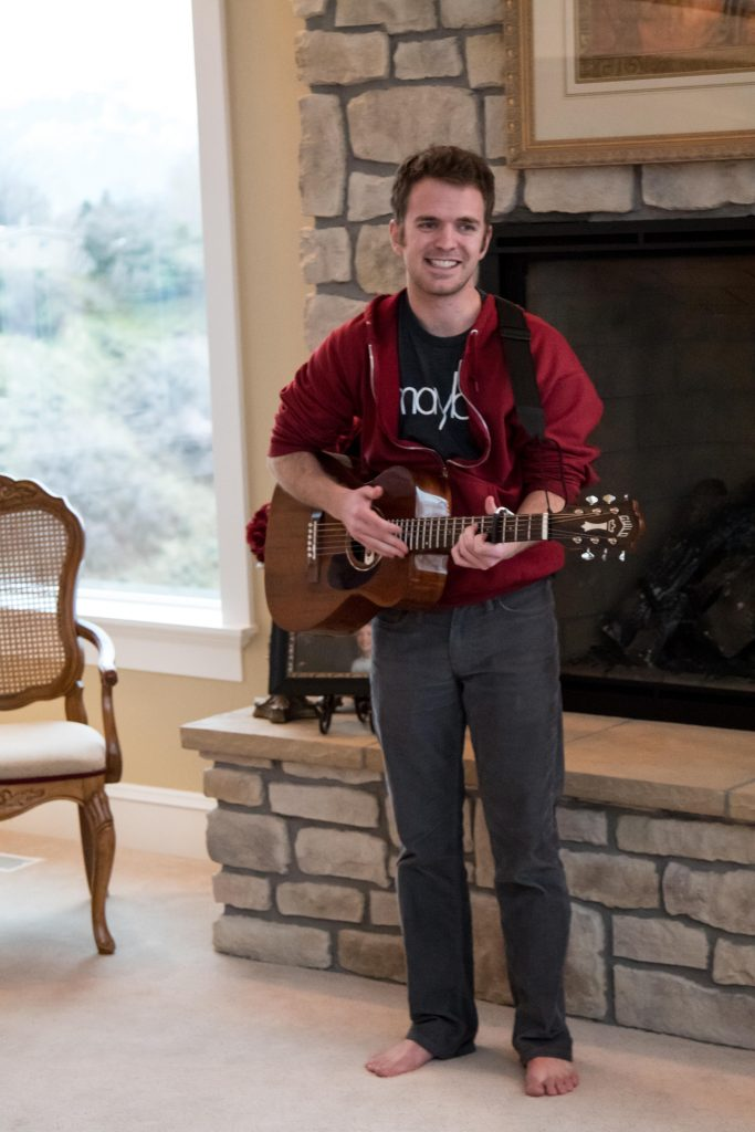 Kevin Bessey playing a House Show, 2018