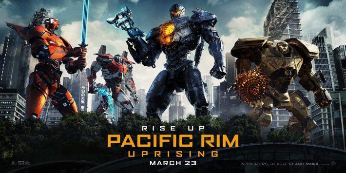 2018's Pacific Rim: Uprising Poster.