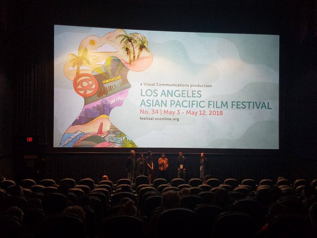Q&A after screening of 'For Izzy'
