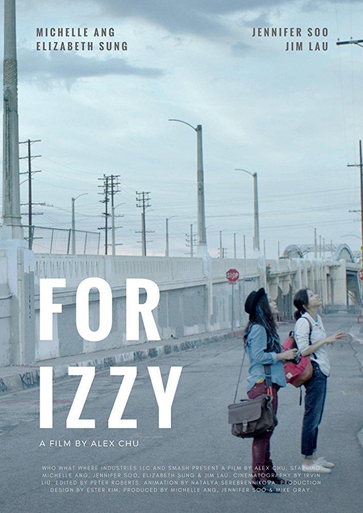 Poster for film 'For Izzy'