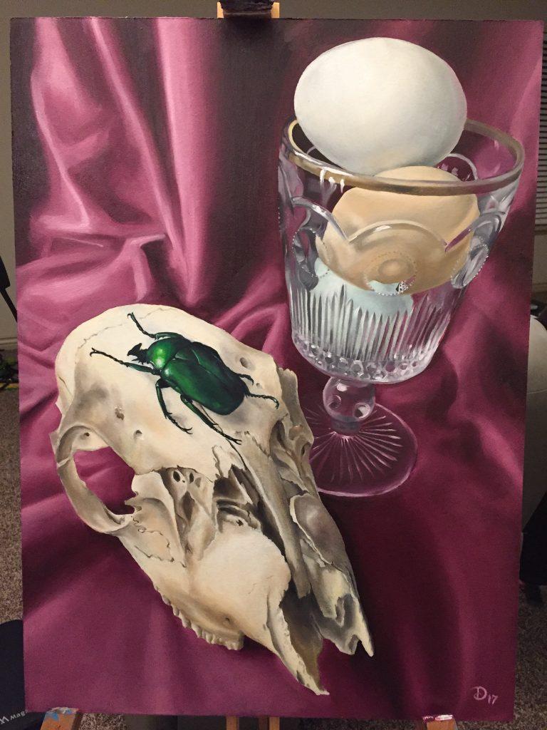 Dawna Whitehead's painting