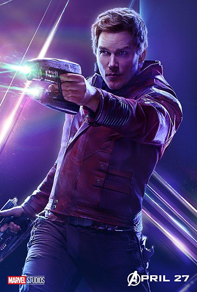 Peter Quill Poster, Avengers: Infinity War