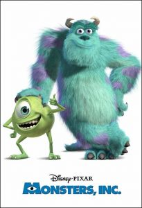 Monsters Inc. Movie Poster