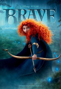 Brave Poster (Pixar)