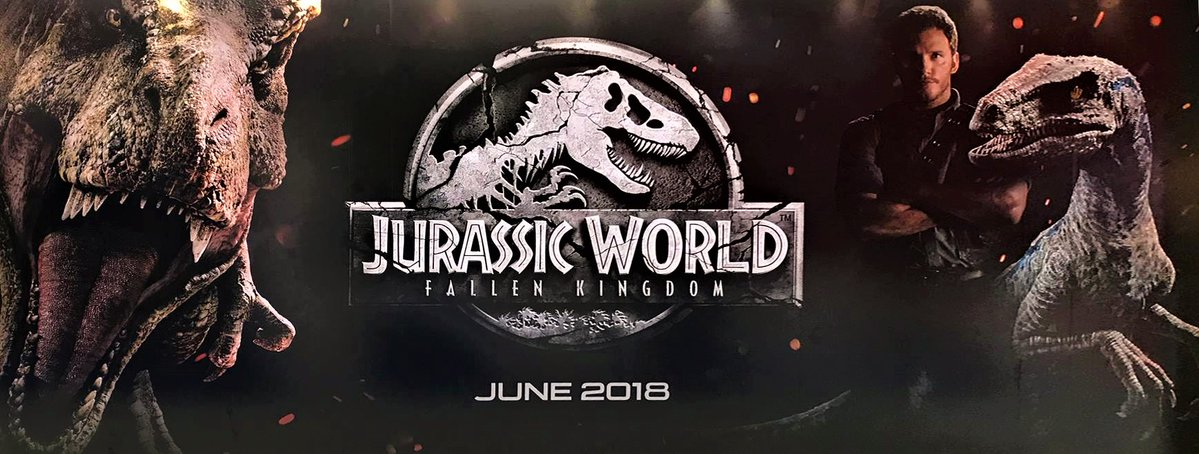 Banner for Jurassic World: Fallen Kingdom