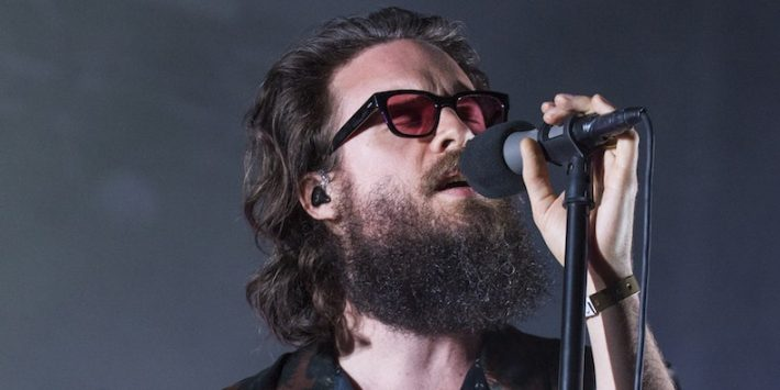 Father John Misty performing