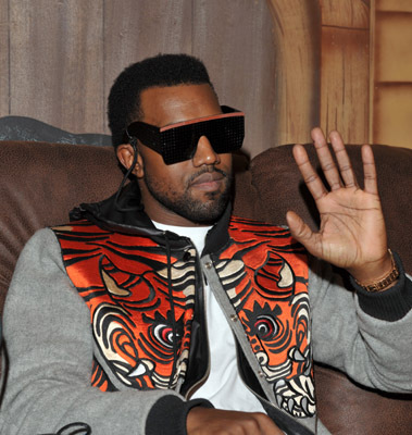 Photo of Kanye West by Lester Cohen