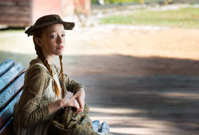 """Amybeth McNulty plays main character, Anne Shirley, in the Anne with an """"E"""" TV series on Netflix."""