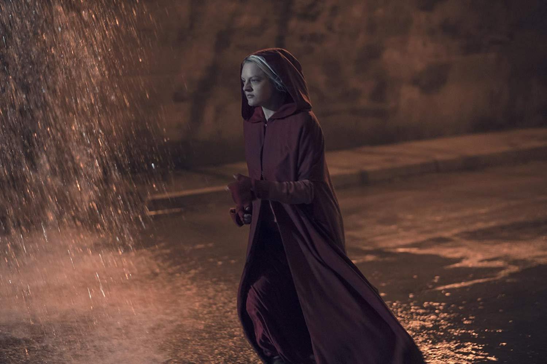 Actress Elizabeth Moss in 'Handmaid's Tale'