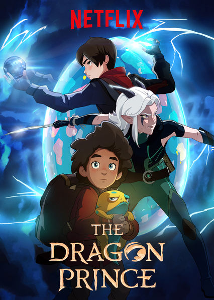 Poster for The Dragon Prince (2018)