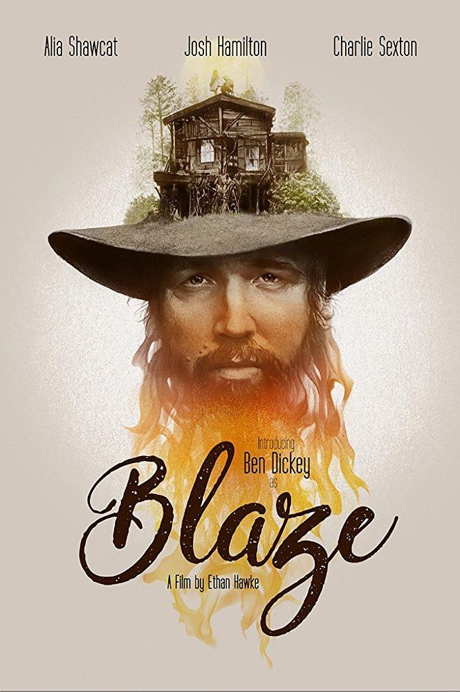 Poster for Blaze (2018)