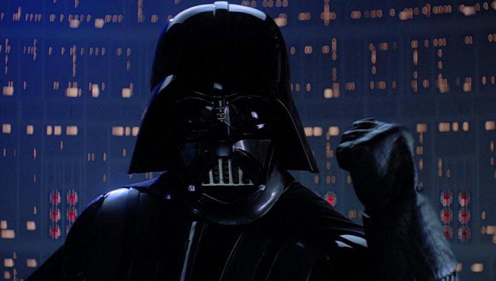 Vader still from Empire Strikes Back (1980)