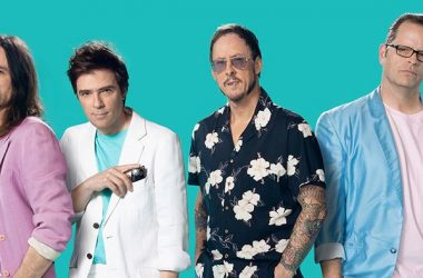 Weezer Album Cover for Teal Album