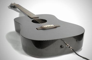 Klos Carbon Fiber Guitar laying down